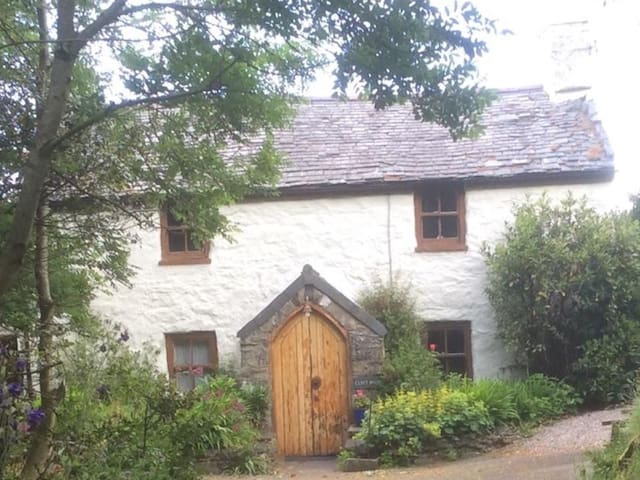 Remote, traditional,character cottage-Conwy Valley