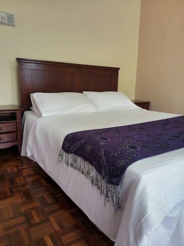 Master Bedroom .Queen size bed