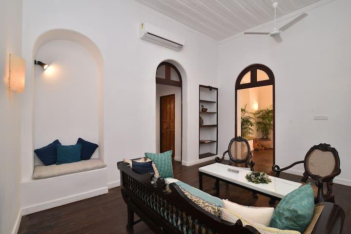 Goan Heritage Boutique room#9 @ Fonteinhas Panjim