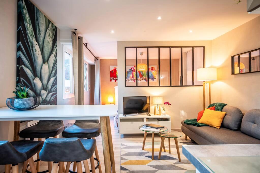 appartement cosy et moderne aux portes de gen ve appartements louer annemasse auvergne. Black Bedroom Furniture Sets. Home Design Ideas