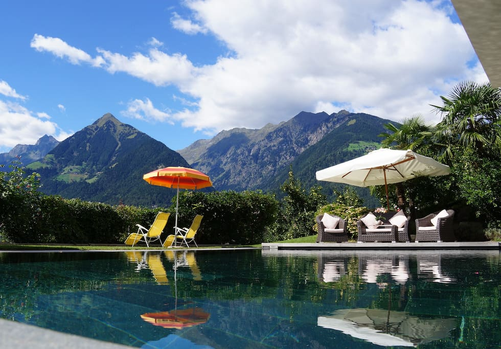 Pool Panoramablick