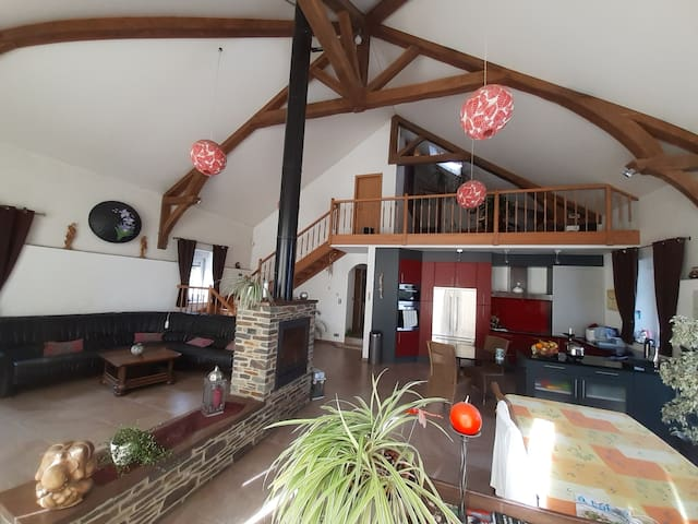 Chambre privée en Ardenne belge