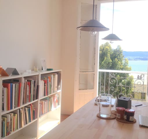 Beautiful flat in front of the bay - Santander - Byt