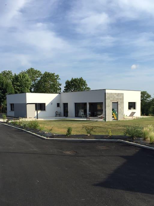 Maison d 39 architecte rodez s bazac houses for rent in s bazac concour s midi pyr n es france - Maison architecte mark dziewulski ...