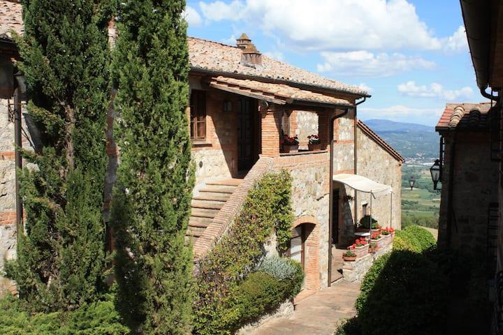 Appartamento di charme piscina Provincia di Siena