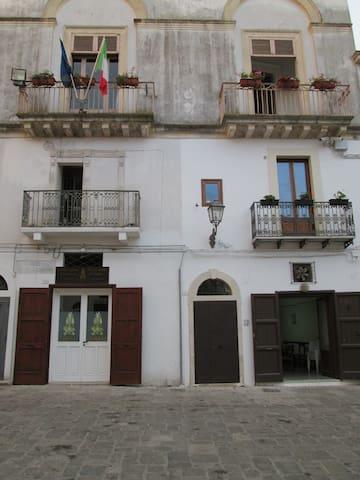 monolocale su  antica piazza - Galatone - Appartement