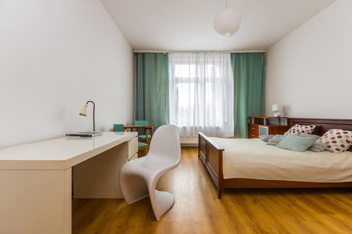 Huge place! 3 great rooms, central and convinient