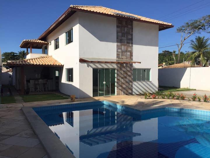 Duplex Ilheus - 4 quartos - Piscina - Praia do Sul