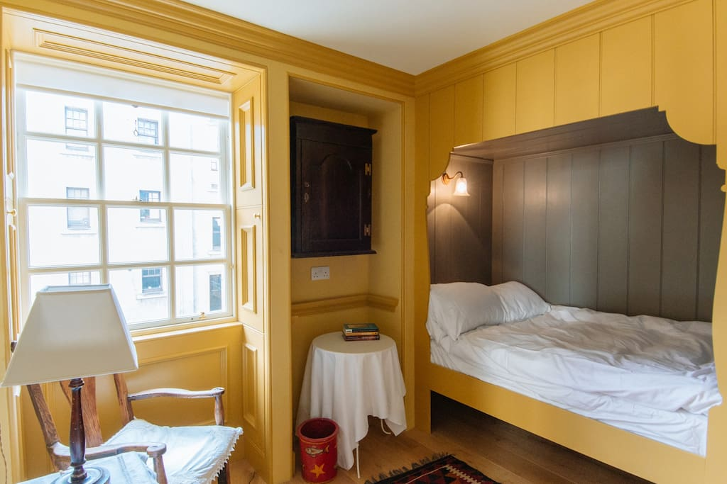 Double box bedroom