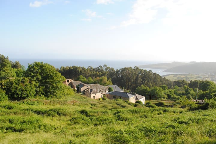 Coastal rural home. Walk to beaches - Xove, Lugo - Casa
