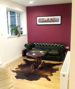 Double room +more in modern house - London - House