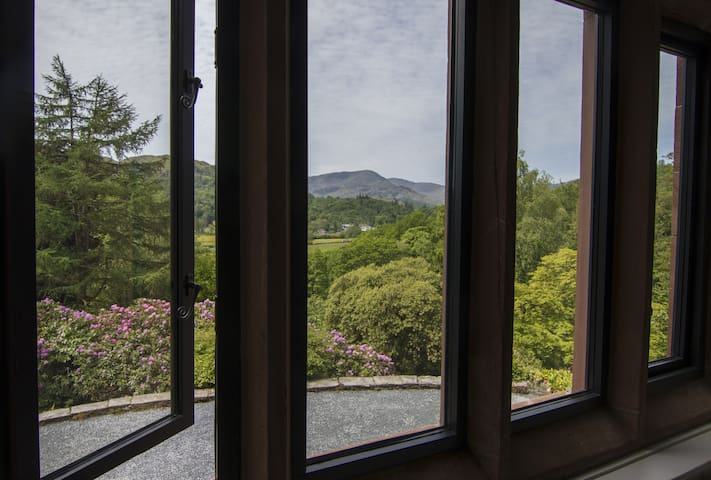 View from the dining room window