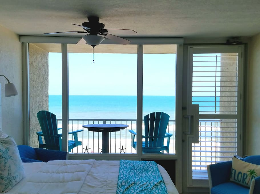 New remote controlled window shades... Hit button, while laying bed! Now you are on vacation!!