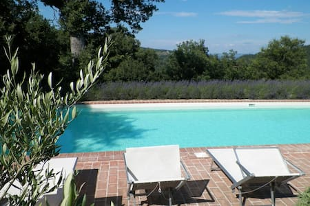 Huge Saline+Heated Pool, Amazing Views, FANTASTIC - Citta di Castello