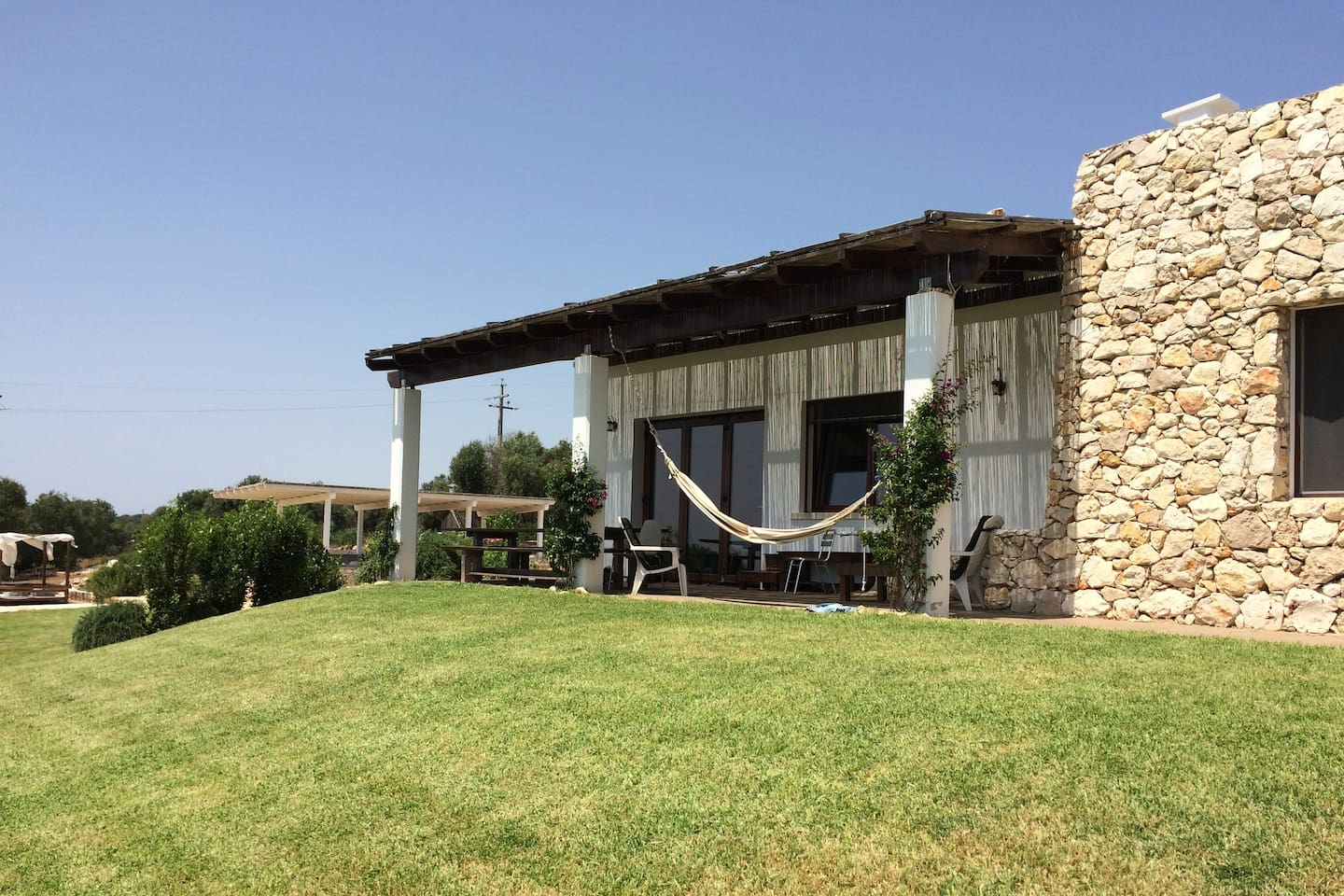 Luxury hilltop villa combing the old and the new of Salento style