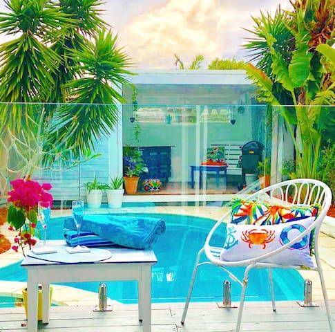 The Hamilton Pool House -