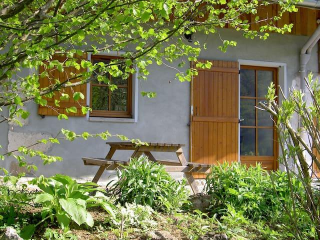 Grange rénovée dans Parc naturel. - LE NOYER - Dom