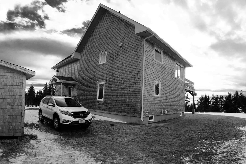 Maison vue de l'extérieur