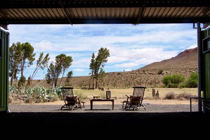 Budget farmstay in the beautiful Karoo.