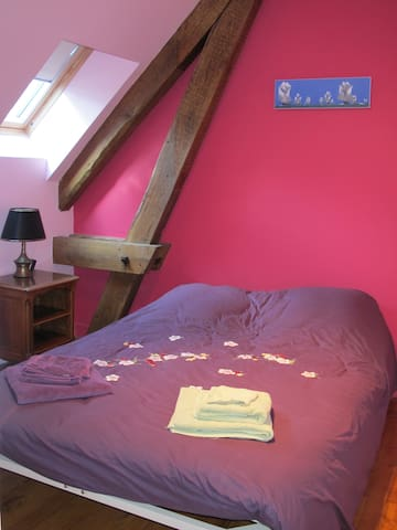 Chambre Glénants - Saint-Yrieix-la-Perche - Bed & Breakfast