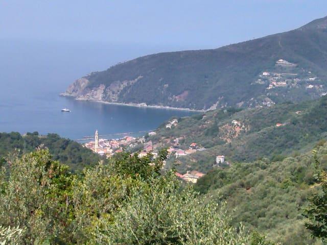 Villetta mare-collina: green relax - Moneglia - Casa