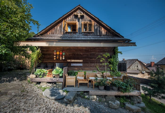 Wooden house in a unique village / Drewniany dom