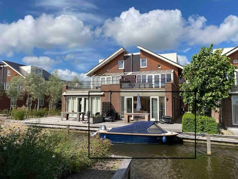 Lovely B&nB 't Zaanse House at the water