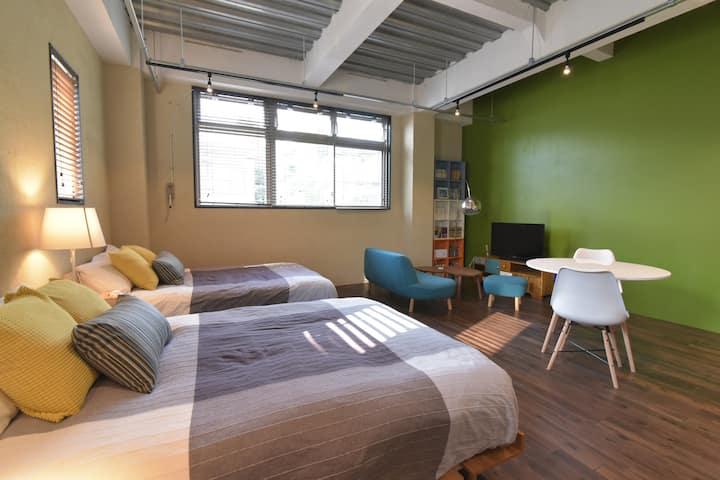 Sophisticated  room,  Katakoto Inn 201