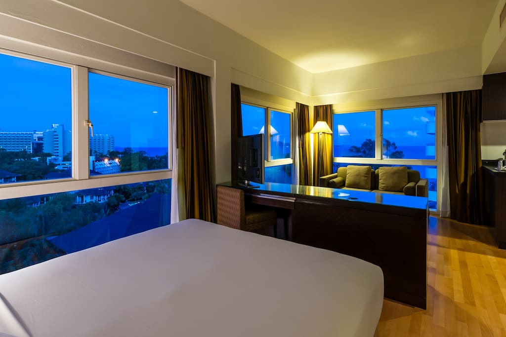 Studio Room for 2 pax,WiFi,Pattaya,Pratumnak_3 - Guest Room WITH the angle of view