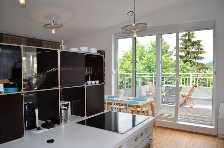 Apartment Dachterrasse Graz Lend - Graz - Podkroví