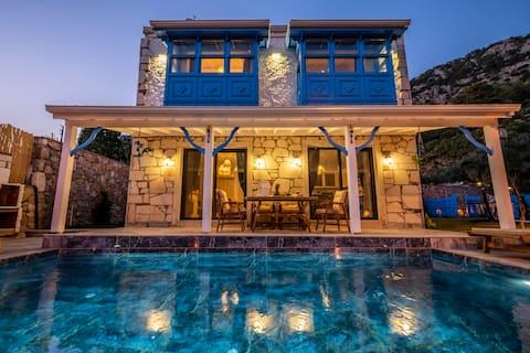 빌라 피오레, 독특한 디자인, 멋진 휴가