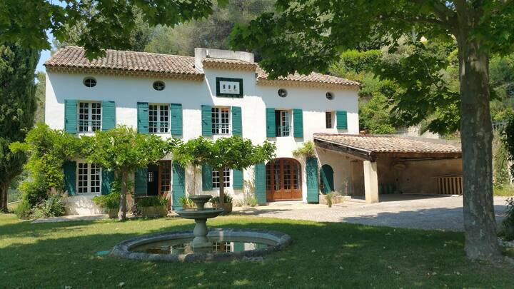 Provencal Bastide (18th) with pool