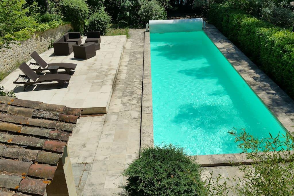 Bastide du xviii avec piscine maisons louer aix en for Camping aix en provence avec piscine