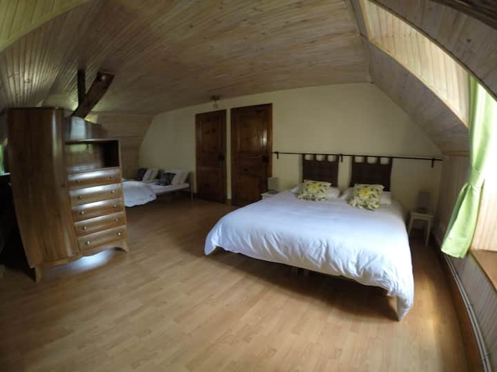 Family Suite for up to 5 people stunning views