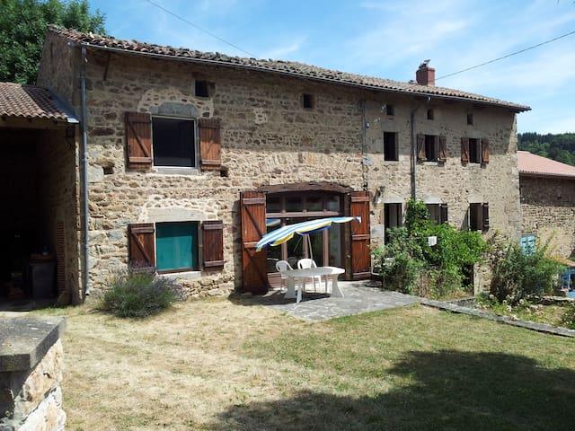 hameau: les vialettes - Vernet-la-Varenne - Haus