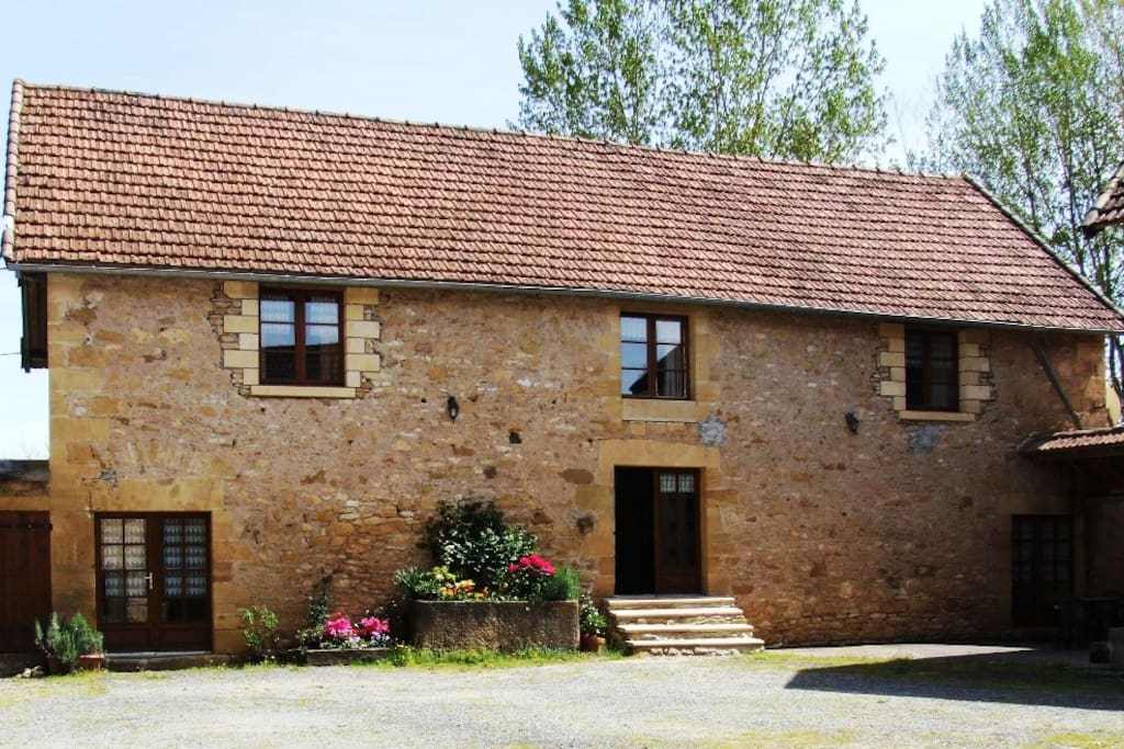 View of Villa Orchidee , our main house at Le Four a Sel Gites and Bed&Breakfast in Montignac, offering 5 rooms for B&B