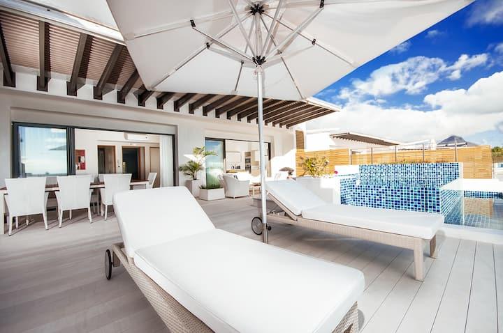 Cap Ouest Penthouse 1 Bedroom