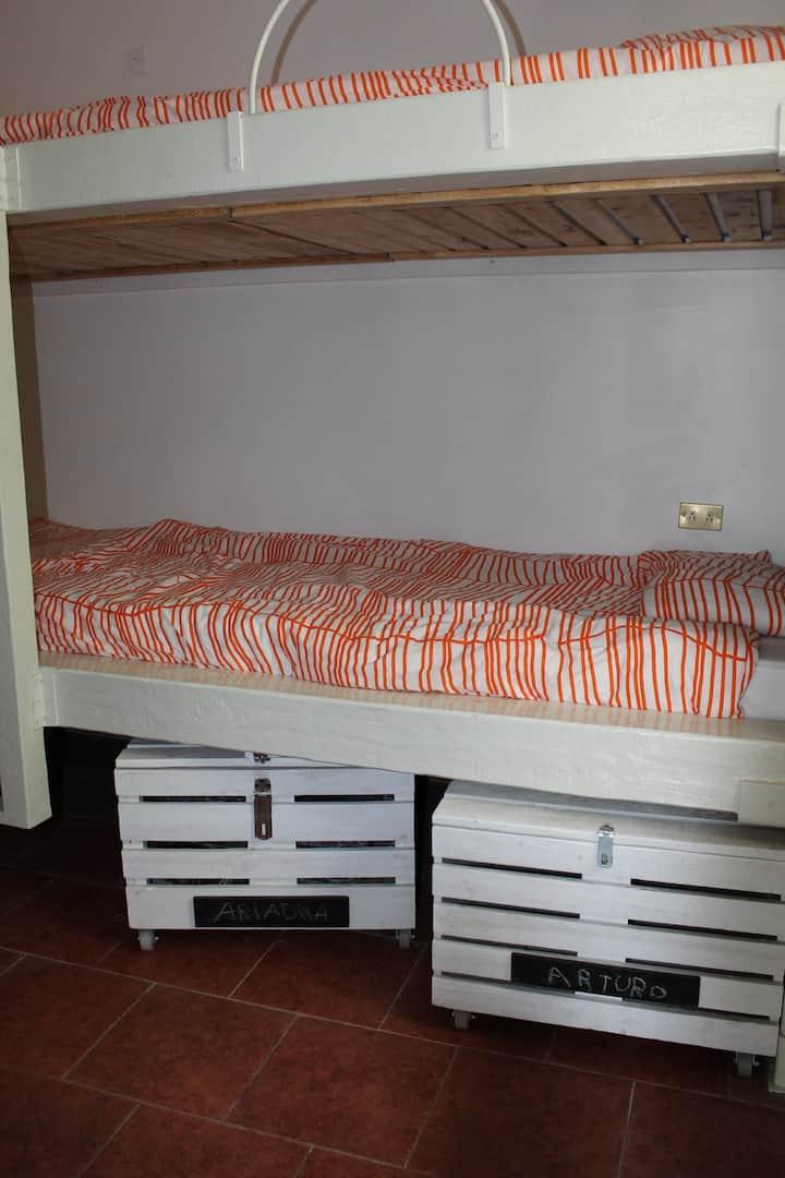 El cascabel B&B-Dormitorio 1