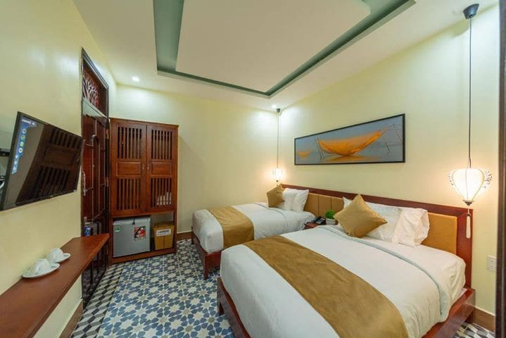Superior Twin  room -The Lake Hoi An villa- Pool