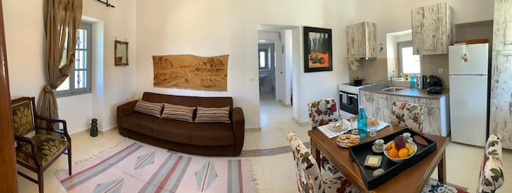 Attik residence at Kythira island Greece