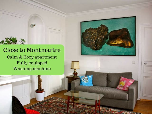 Charming & quiet flat - near Montmartre