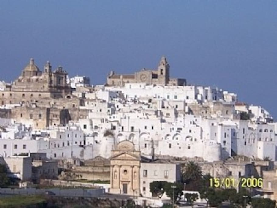 View of Ostuni (Historic centre)