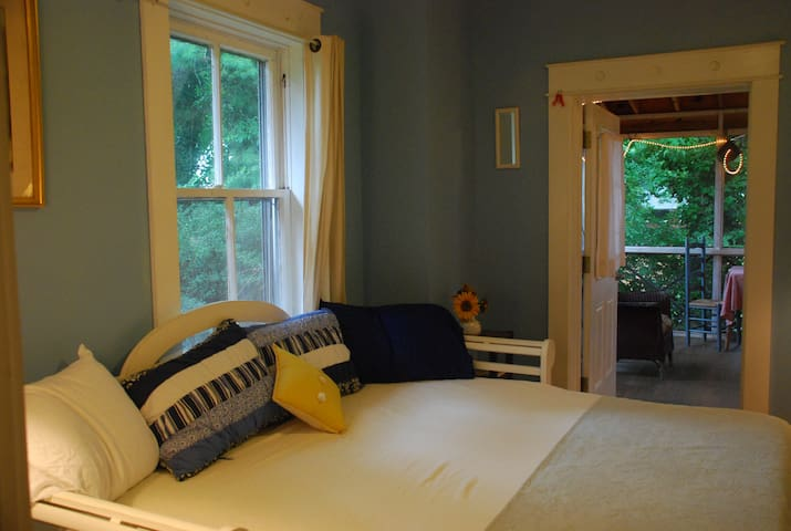 Suite w/Pvt. Entrance+Screen Porch. - Charlottesville - Huis