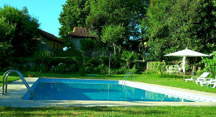 Casa do Pátio (T1) with pool - Marco de Canaveses - Villa