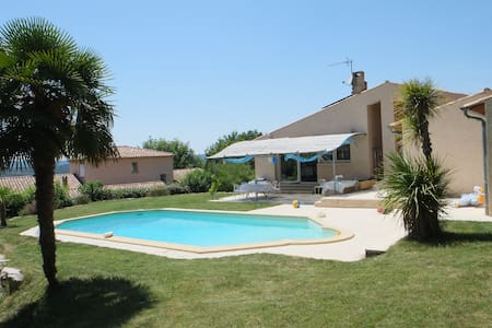 Provencal Villa with a Private Pool - House