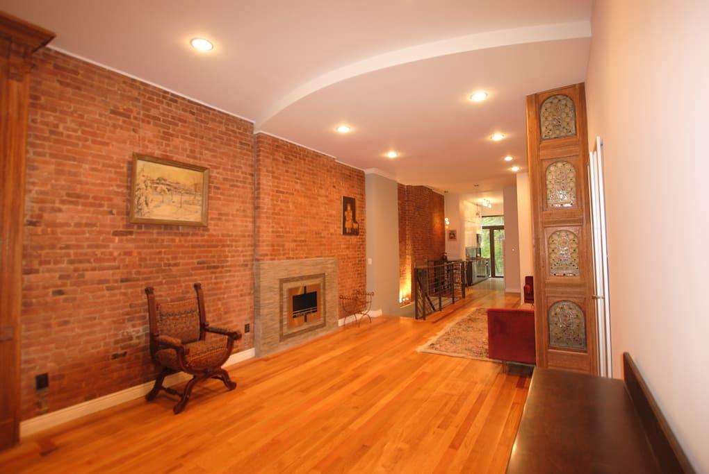 beautiful duplex w private garden h user zur miete in new york new york vereinigte staaten. Black Bedroom Furniture Sets. Home Design Ideas