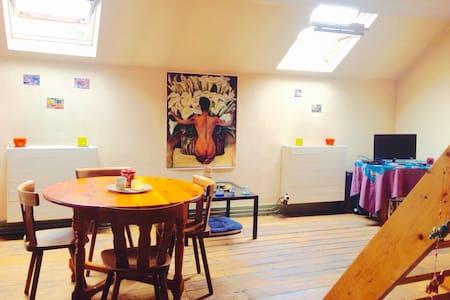 Lovely room Louise / Flagey - Bryssel - Huoneisto
