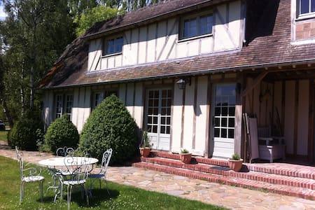Maison de charme en colombage - Tourville-en-Auge