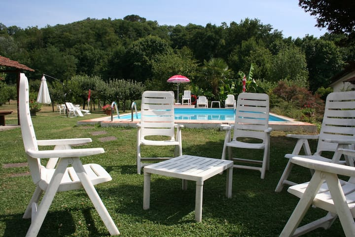 Casale i Girasoli:apt+pool&park - Barga - Bed & Breakfast