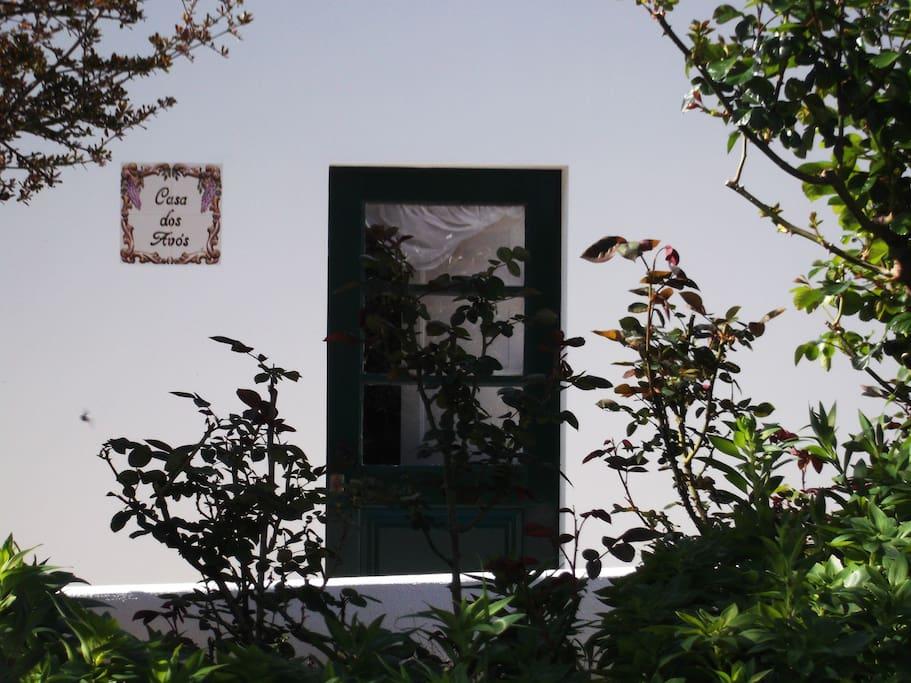 Entrada da Casa dos Avós - Quintal